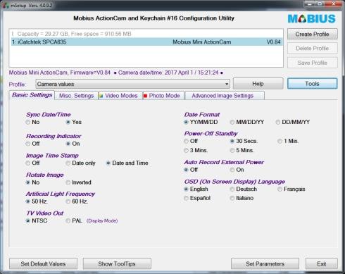Mobius Mini Config 09